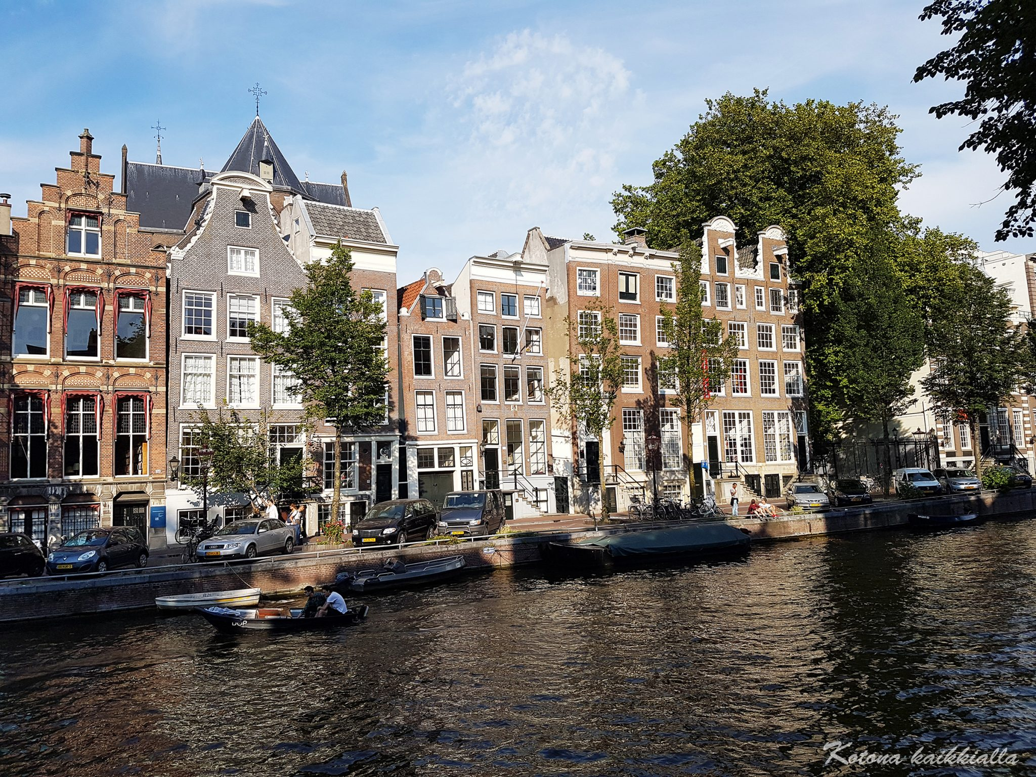 Amsterdam kanaalit