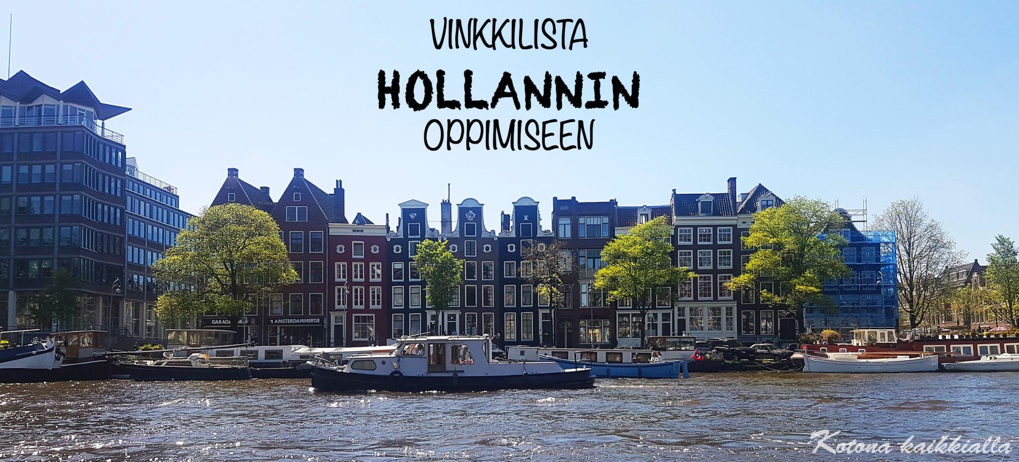 Vinkkilista hollannin kielen oppimiseen
