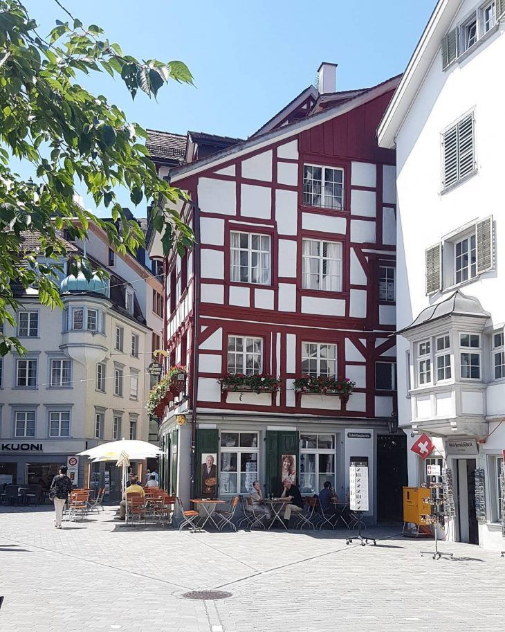 St Gallen is the cutest stgallen switzerland schweiz cutehouses architecturehellip