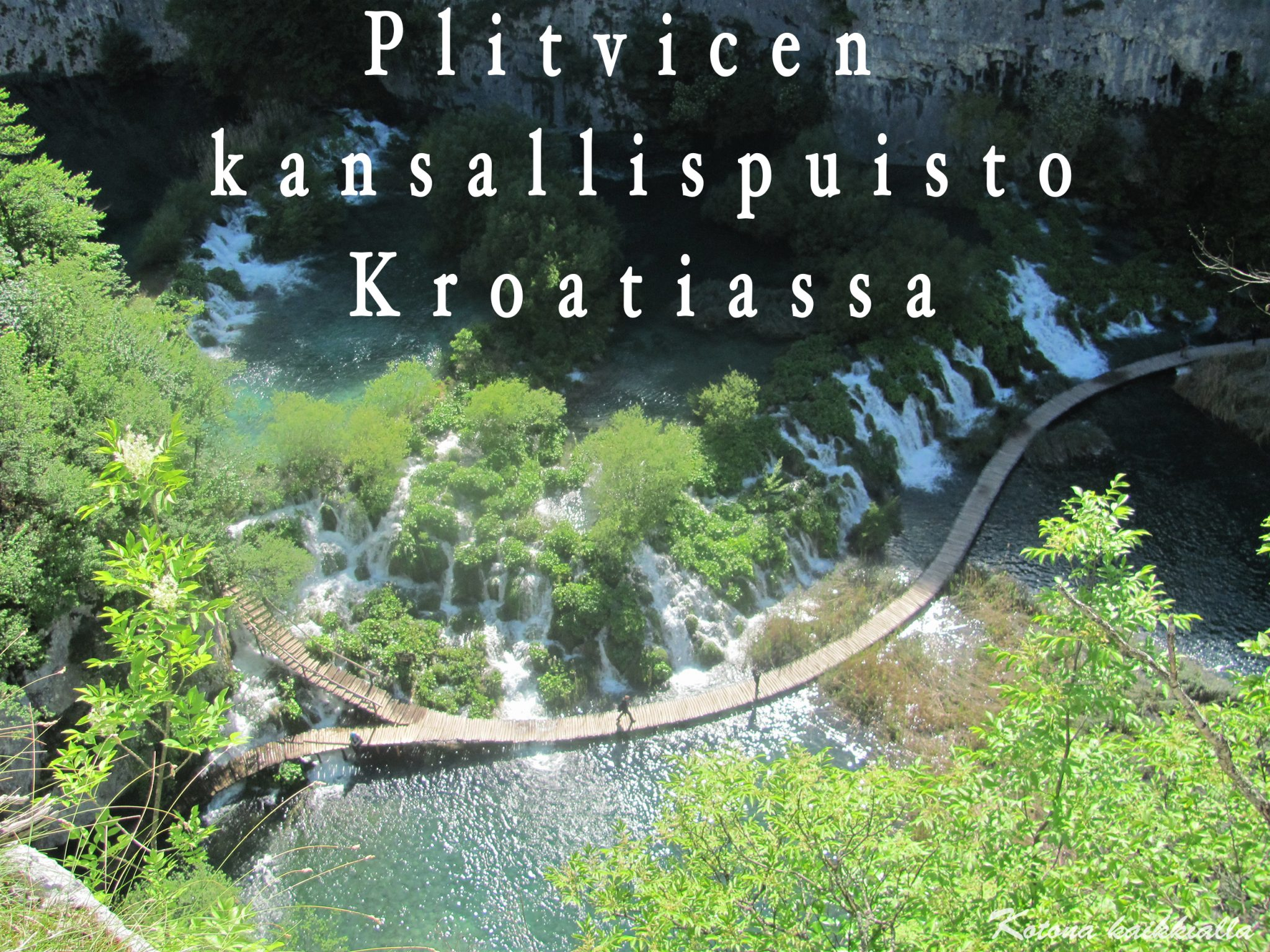 Plitvice National Park Kroatia 2
