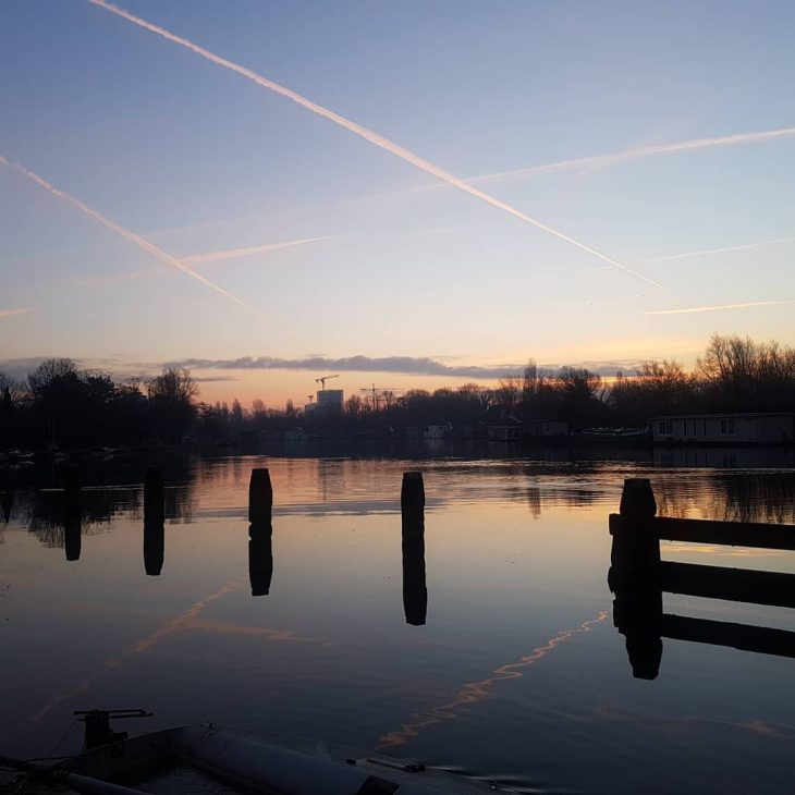 Coldish weather makes for beautiful sunrises worth waking up onhellip