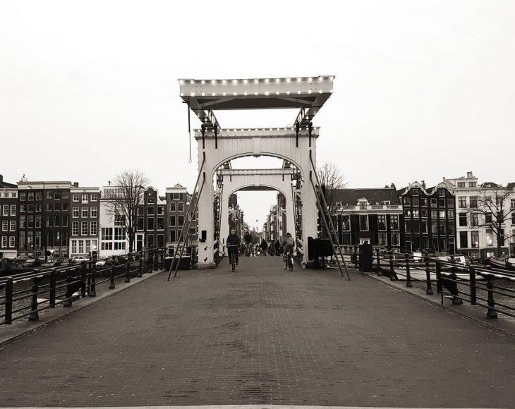 Magere brug over the Amstel magerebrug amsterdam iamsterdam amstelriver netherlandshellip