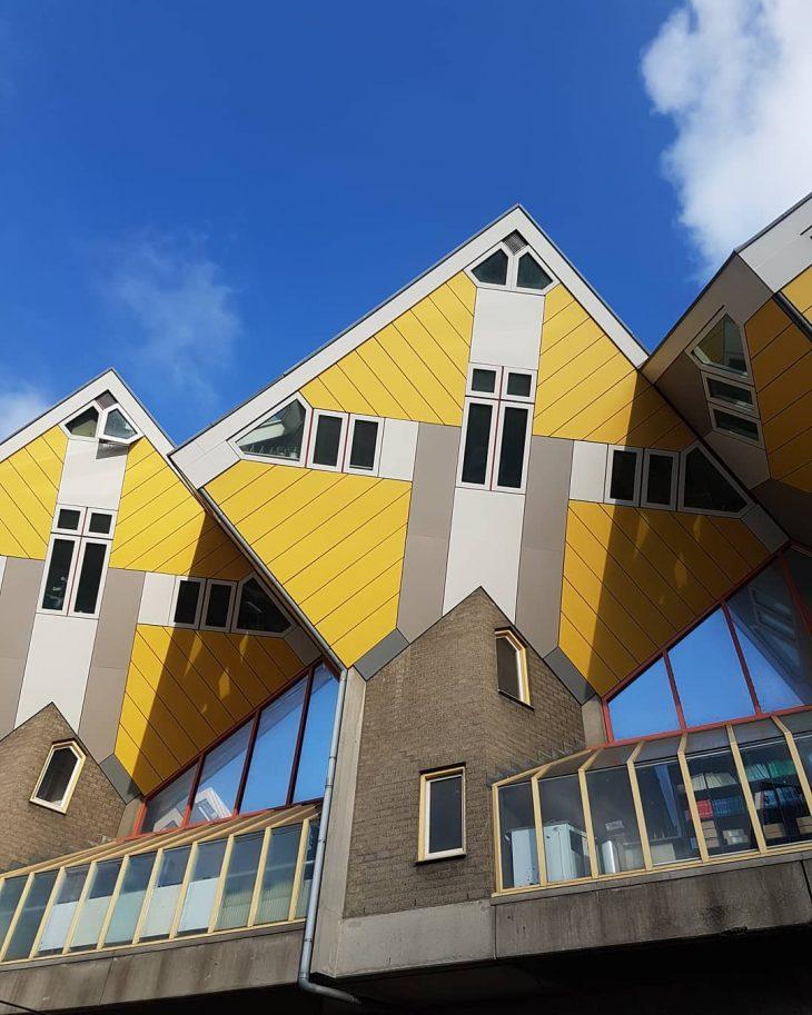 Funky Rotterdam rotterdam architecture cubehouses netherlands kubuswoningen nederland holland travelgram
