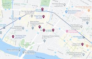 Krung Thep Maha Nakhon eli Bangkok! Osa 1. Chinatown