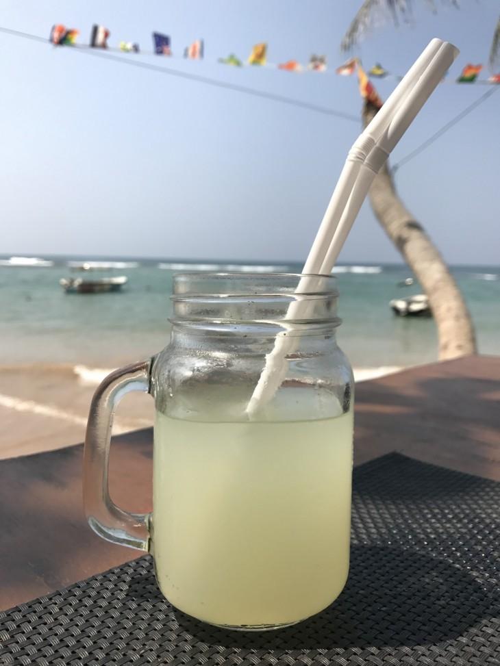 Fresh lemon juice <3