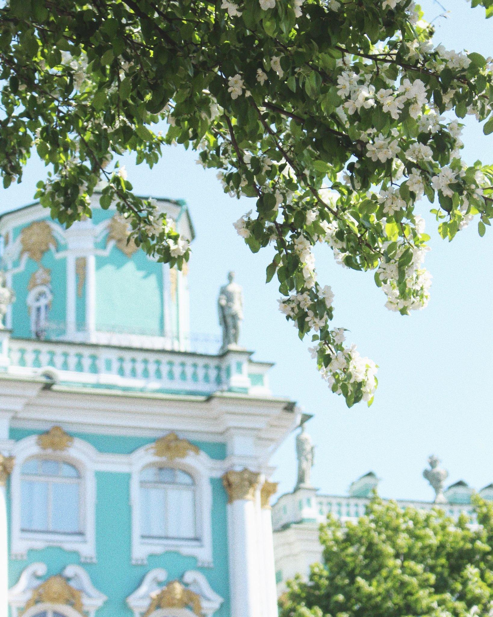 Päivä Pietarissa