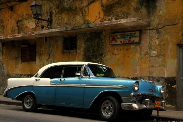 Tyypillinen näkymä Havannassa