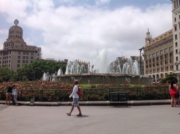 Barcelonaan voisi mennä uudestaankin...