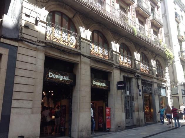 Desigual löytyy myös Barcelonasta