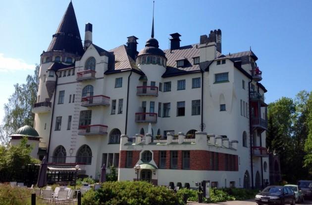 Hieno Imatran Valtionhotelli