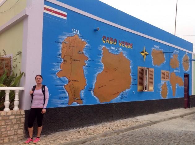 Kap Verden saaria väärässä järjestyksessä