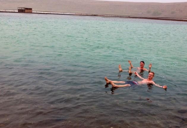 Näiden suola-altaiden vedessä on puolet enemmän suolaa kuin Kuolleenmeren vedessä!