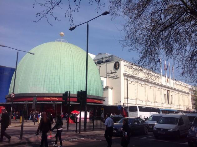 Madame Tussauds on Lontoon kuuluisimpia nähtävyyksiä.