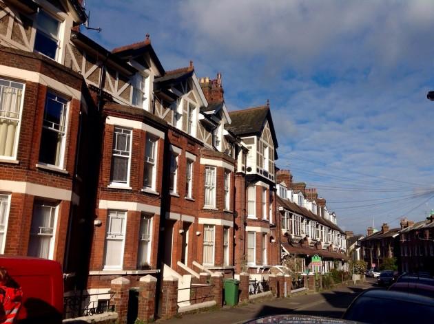 Englantilaisia taloja Tunbridge Wellsissä