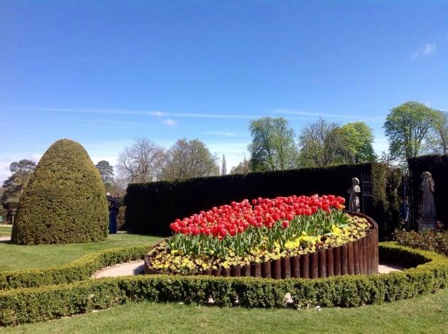 Aurinkoiset kelit ja hyvin pitkälle edennyt kevät kruunasivat Englanninmatkamme.