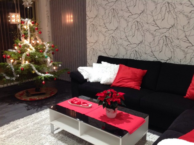 Villa Comet on valmiina joulunviettoon.