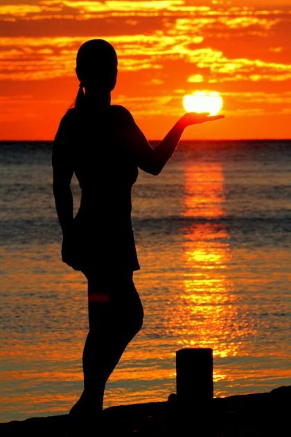 Negrilissä voi ihastella myös upeita auringonlaskuja.