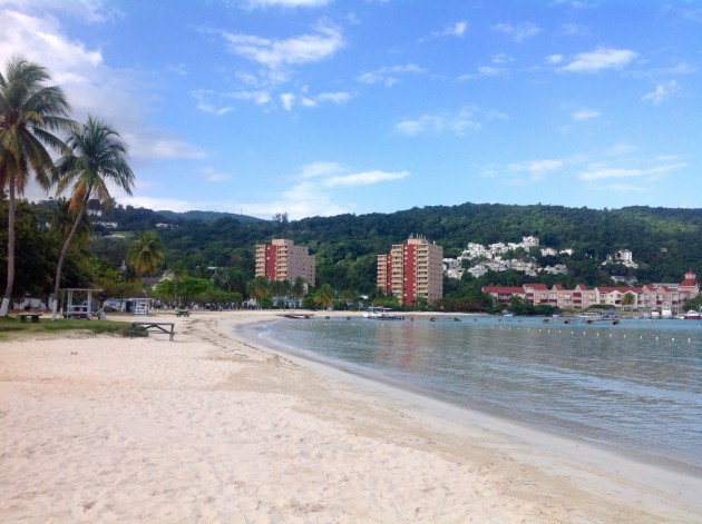 Ocho Rioksen rantaa