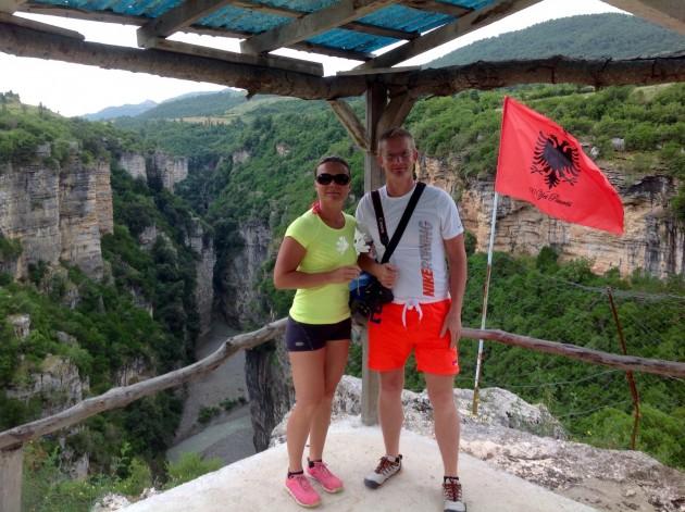 Kaunista Albaniaa Osum-kanjonilla