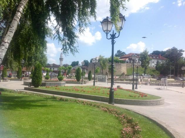 Novi Pazarin keskustaa