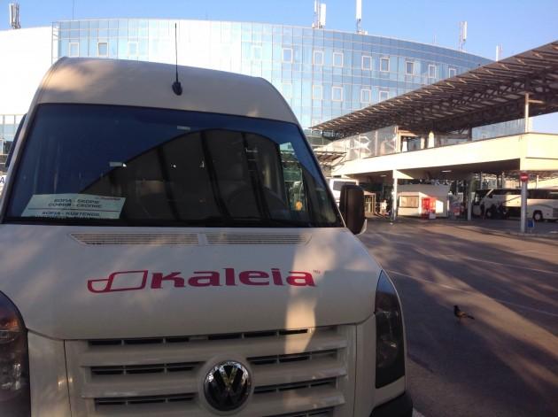 Bussilla kohti Skopjea