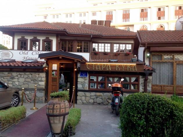 Old Coty House, perinteistä makedonialaista ruokaa tarjoileva ravintola