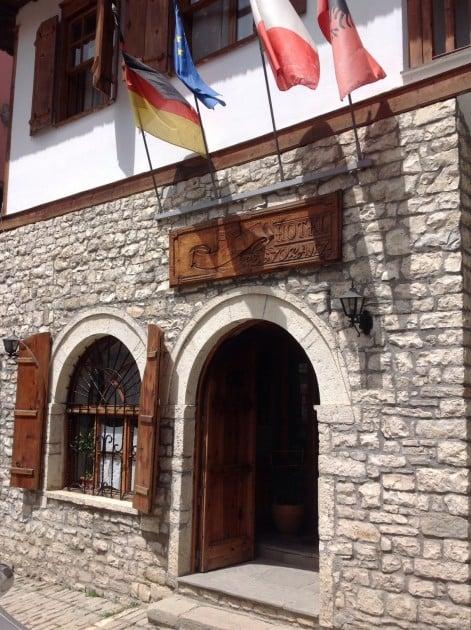 Hotelli Berati, hyvä majapaikka kaupungin keskustassa
