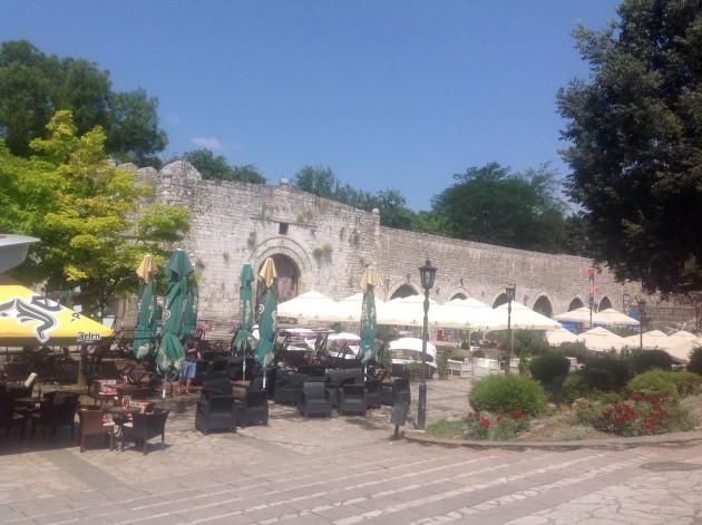 Näkymiä linnakkeen sisäpuolelta