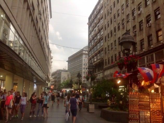 Vilkas ja eloisa Belgrad