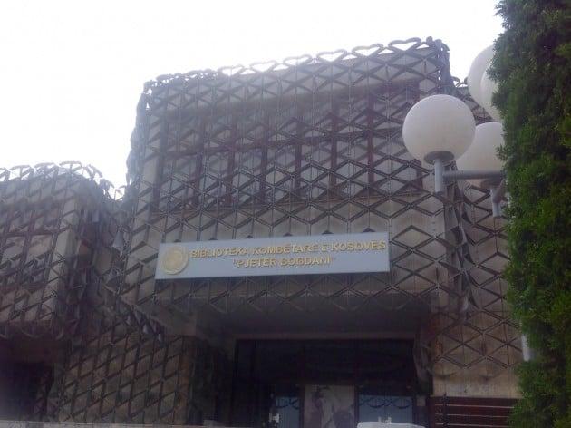 Rumuudestaan kuuluisa Kosovon kansalliskirjasto
