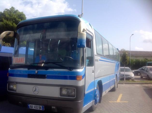 Bussi on hyvä menopeli Balkanilla.