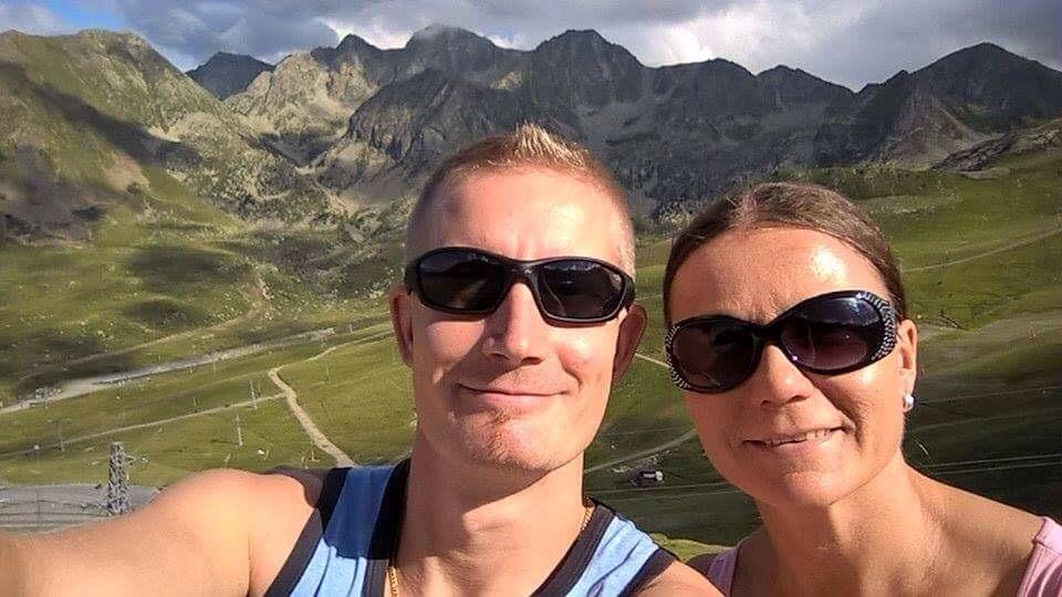 Andorrassa Pyreneitten hienoissa maisemissa