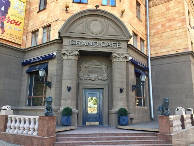 Tässä Grand Cafe, ravintola kalleimmasta ja hienoimmasta päästä, TripAdvisorin hyvät suositukset saanut paikka