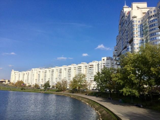 Minsk on siisti kaupunkikohde.