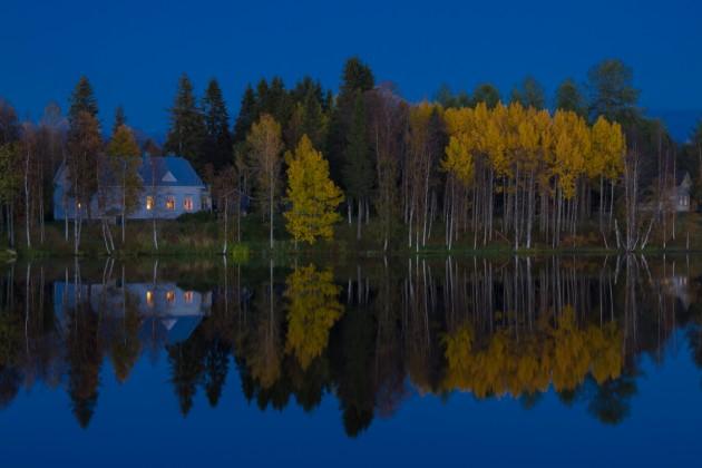 Syyskuun ruskaa Kuusamossa