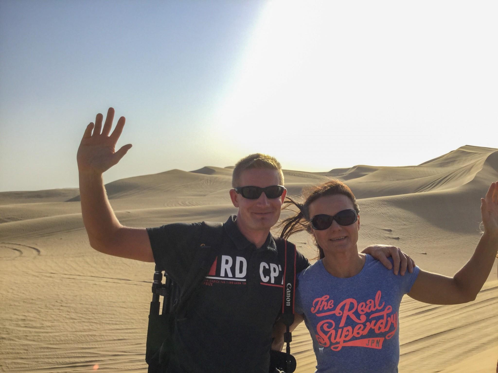 Aavikon tuulessa