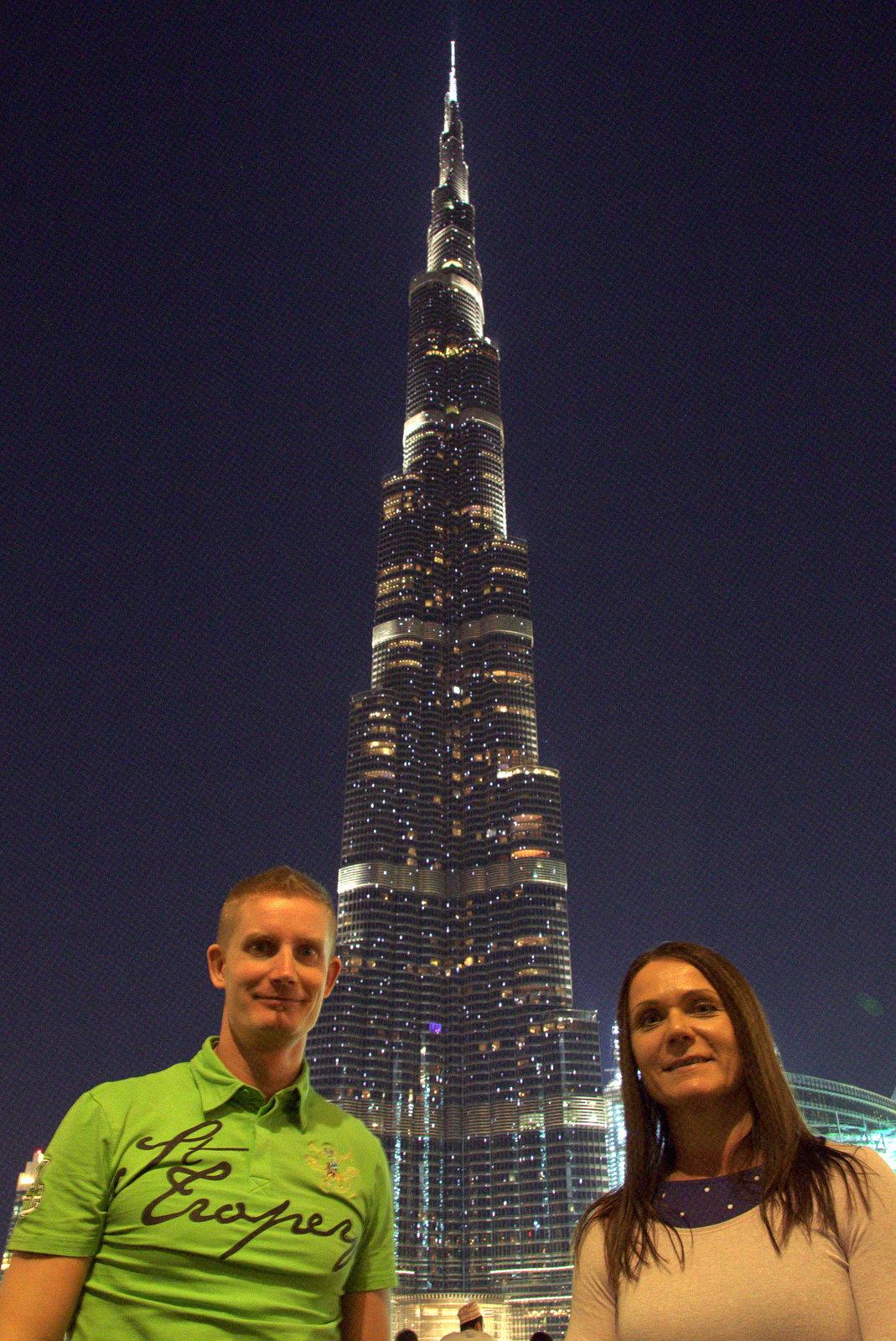Dubain ykkösnähtävyys Burj Khalifa