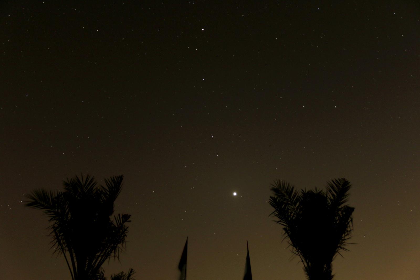 Aavikon tähtitaivasta