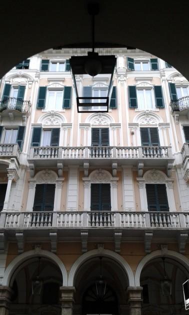 Pohjois-Italiassa on kaunista arkkitehtuuria, jotenkin ylvästä.