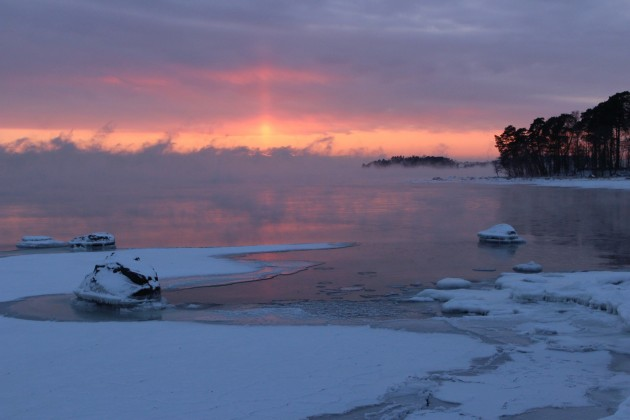 Helsinki talvi winter