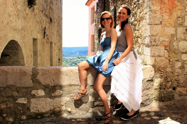 St Paul de Vence Ranska France ystävät ystävyys