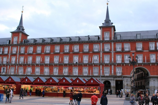 Madrid Plaza Mayor navidad