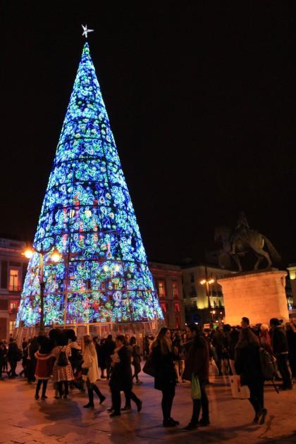 Madrid Puerta del Sol navidad