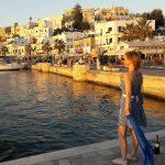 Sun is going down in Naxos harbour naxos naxosisland naxoschorahellip