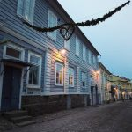 Christmas greetings from beautiful Porvoo  Jouluterveiset Porvoosta  finlandhellip
