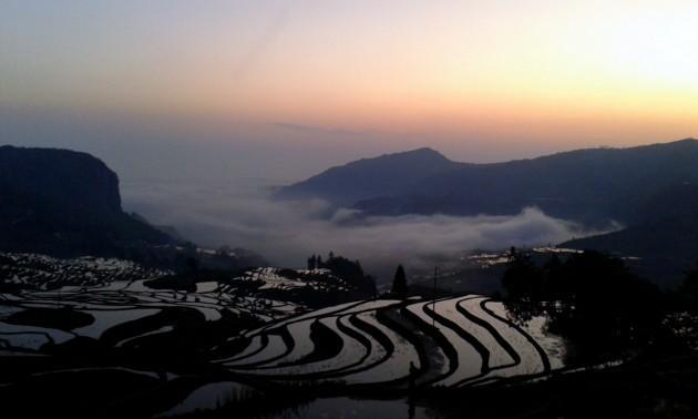 Yuanyang riisiterassit, Yunnan (28)