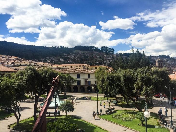Plaza Regocijo cusco