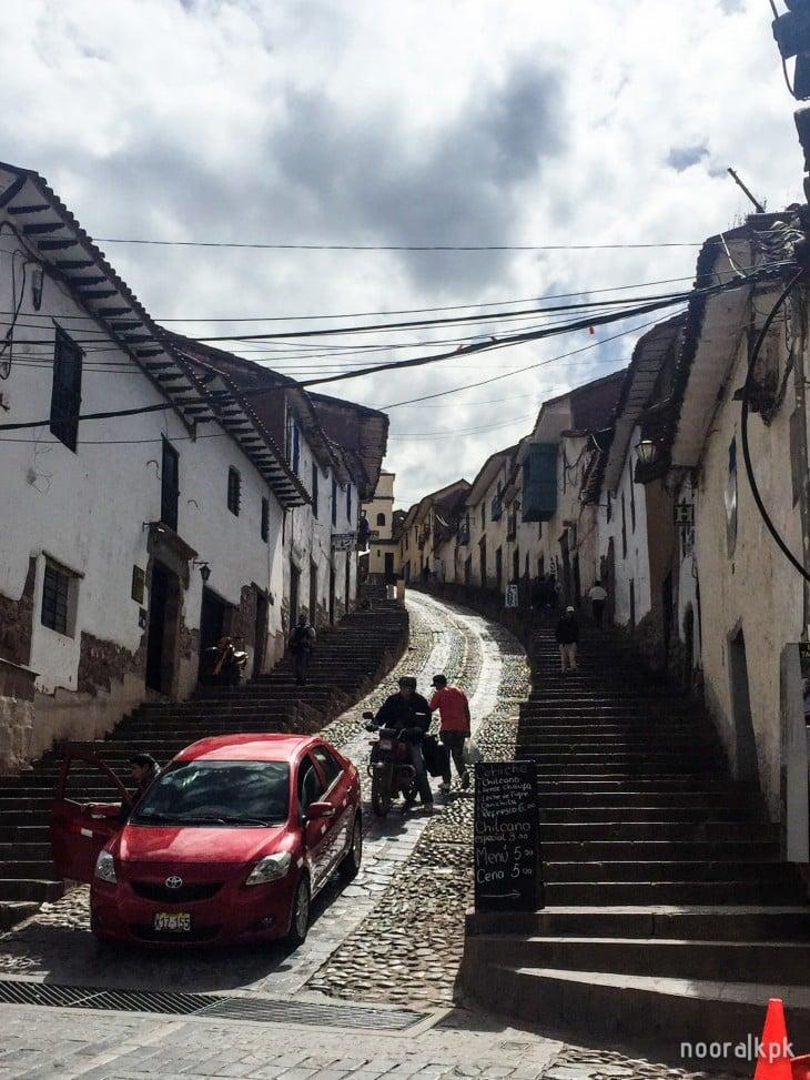 cusco uphill