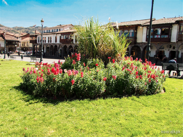 plaza mayor cusco