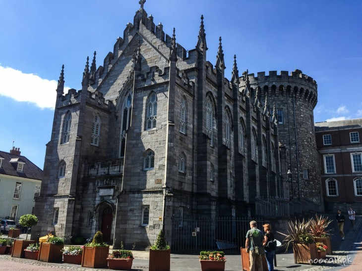 dublin castle view